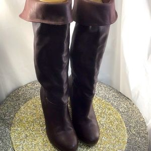 Beauty pair of UGG Boots size 8 Over Knee Wedge